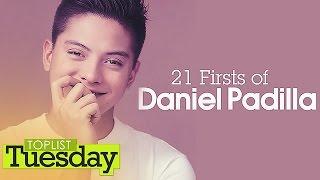 TopLIST Tuesday: 21 Firsts of Daniel Padilla