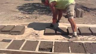 getlinkyoutube.com-Semi-Mechanized Adobe Brick Making 101