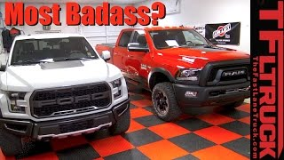 2017 Ford Raptor vs Ram Power Wagon: For $63K Which One Would You Buy?