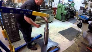 getlinkyoutube.com-Rotary Welding Table Build Part 15: The Assemble