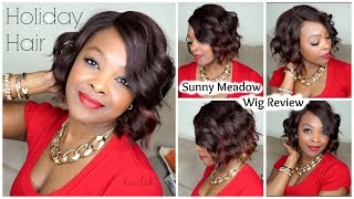 getlinkyoutube.com-Holiday Hair | Sunny Meadow Wig Review