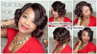 getlinkyoutube.com-Holiday Hair | Sunny Meadow Wig Review