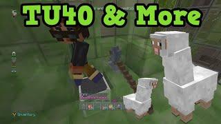 getlinkyoutube.com-Minecraft Xbox 360 / PS3 TU40 - Llamas QnA