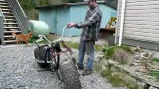 getlinkyoutube.com-Honda ATC 200 3 wheeler to 2 Big Wheel Fat Cat Hippo Hog Dirtbike Project