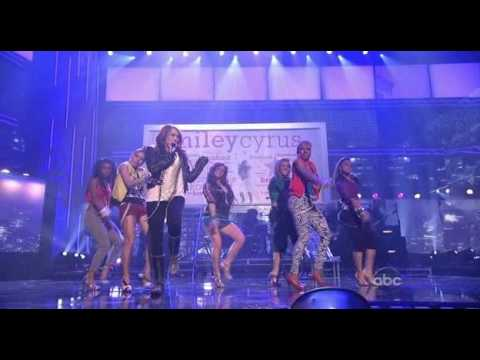 Miley Cyrus Fly on the wall @Live AMA 2008