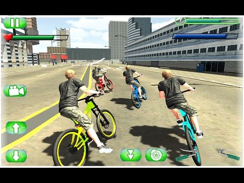 Hero Bicycle FreeStyle BMX Game Video