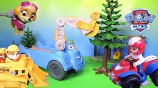 getlinkyoutube.com-PAW PATROL Nickelodeon Paw Patrol Buzzsaw Tree Hugger Toys Video Parody