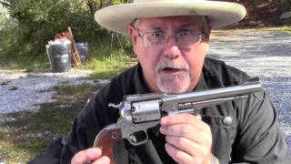 Ruger Old Army Powder   Projectile Test Part 1