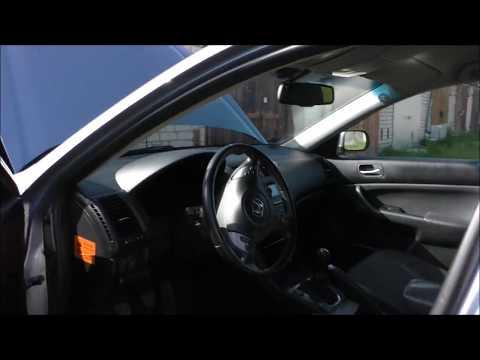Honda Accord замена жидкости гур , часть 1
