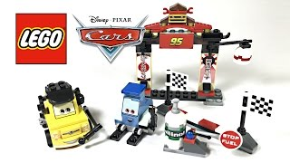LEGO Cars Tokyo Pit Stop review! 2011 set 8206!