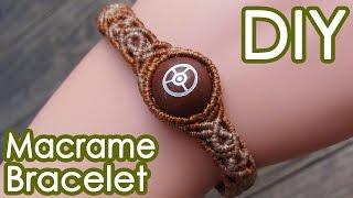 getlinkyoutube.com-巻き結びブレスレットの作り方【マクラメ編み】SEDONA Vortex Stone Beads Macrame Bracelet Tutorial