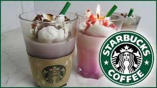 getlinkyoutube.com-Starbucks Caramel Frappuchino Kerzen selber machen (DiY)
