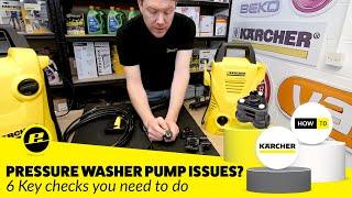 getlinkyoutube.com-How to Diagnose Pressure Washer Pump Problems