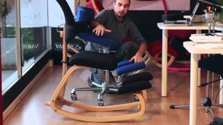 getlinkyoutube.com-Comparativa sedie ergonomiche Komfort e Stokke Thatsit - Varier