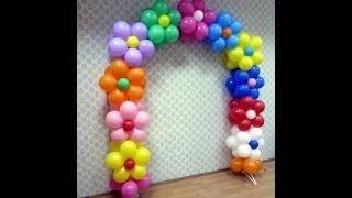 getlinkyoutube.com-Как сделать арку из воздушных шаров
