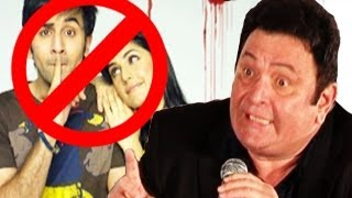 getlinkyoutube.com-Rishi Kapoor shows his anger on Ranbir Kapoor as Katrina Kaif visits his house