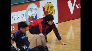 getlinkyoutube.com-151122 vs fc tokyo warming up / practice 柳田将洋