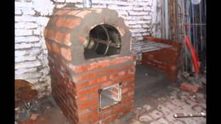 getlinkyoutube.com-Construccion Horno de Barro y Parrilla