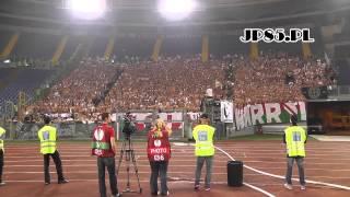 getlinkyoutube.com-JP85.PL - Lazio Rzym 1-0 Legia Warszawa (oprawa + doping)