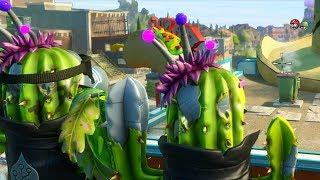 getlinkyoutube.com-Plants vs. Zombies: Garden Warfare - A Cacti Story (who didn't help their team)