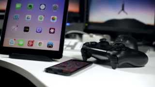 getlinkyoutube.com-Use PS4 Controller With iPhone And iPad To Play iOS 7 Games