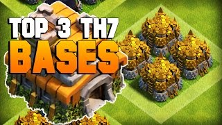 getlinkyoutube.com-Clash of Clans | TOP 3 TH7 Farming Base 2016 | CoC BEST Town Hall 7 Defense [TH7 2016]