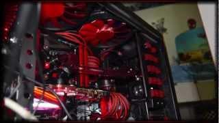getlinkyoutube.com-1st MOD & Gaming PC RIG watercooled ( ATI 7970 - NZXT phantom)