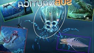 getlinkyoutube.com-Lost River | Warper | SpineEel | Crabsquid | SeaTreader! - Subnautica News #1