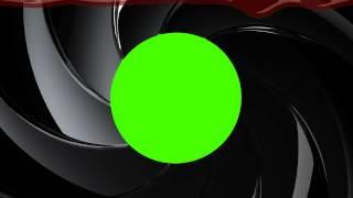 getlinkyoutube.com-James Bond 007 Gunbarrel - Green Screen Animation