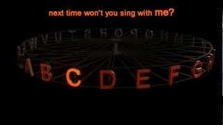 getlinkyoutube.com-Alphabet Song, ABC Song (Karaoke Version) High Definition (HD)