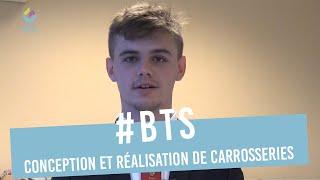 Nicolas en 2e année BTS Conception et Réalisation de Carrosseries au GARAC