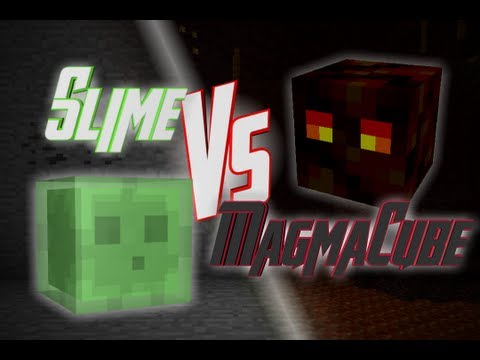 Epic Rap Battles of Minecraft - Slime vs Magma Cube - Epic R