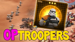 getlinkyoutube.com-OP-TROOPERS ! Sandtroopers are WAY to powerful | Star Wars Commander Empire # 172