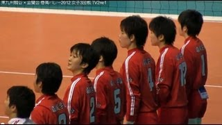 getlinkyoutube.com-Volleyball 東九州龍谷 × 金蘭会  春高バレーVolleyball2012-107