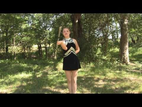 Baton Twirling Tips, How To, Routines 2 for Dance Team, Color Guard or Cheerleaders