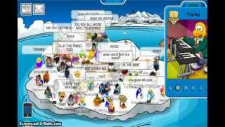 getlinkyoutube.com-Club Penguin:Meeting ALL Famous Penguins
