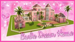 getlinkyoutube.com-The Sims 4: Speed Builds - Barbie Dream House