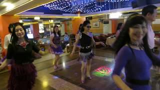 getlinkyoutube.com-Rivers of Babylon Line Dance(By John Bishop & Karen Wilkinson)