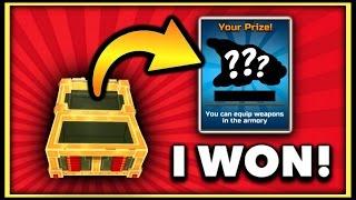 I WON A NEW WEAPON?! | Pixel Gun 3D Lucky Chest Opening #4