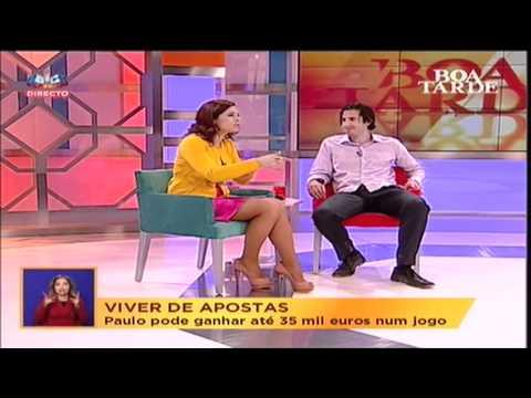 SIC Programa BOA TARDE - Entrevista Paulo Rebelo