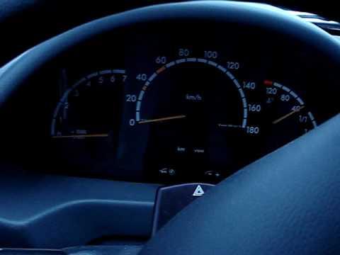 Потухла панель приборов Mercedes Sprinter 411