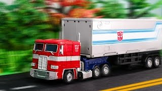 Transformers G1 Optimus Prime Convoy MP 10 Stop Motion Truck Transformation Robot  Vehicle Car Toys