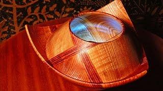 "getlinkyoutube.com-Tokar Art 32 Woodturning ""Earth Transformation"" from Cube to Flower"