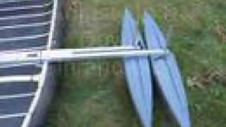 getlinkyoutube.com-4-Float Super Stabilizer for Canoe