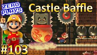 getlinkyoutube.com-Castle Baffle | Super Mario Maker Part 103