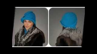 getlinkyoutube.com-Вязаные шляпы от Светланы Нагумановой. Crocheted hats.