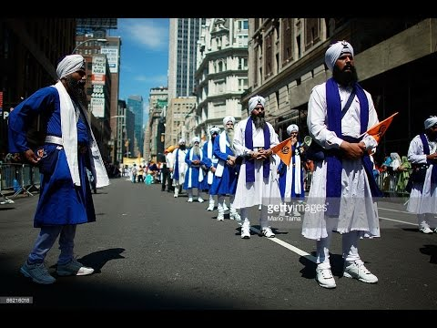 Sikh Day Parade 2017  Manhattan New York City