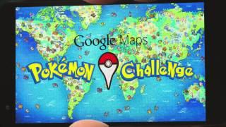 Pokémon Challenge - Jouer des maintenant à Pokemon à travers le monde avec Google Maps !