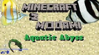 getlinkyoutube.com-Minecraft z modami #82 - Aquatic Abyss - Dodaj troche wodnych stworzen!