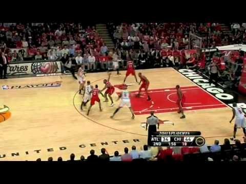 NBA Playoffs 2011: Atlanta Hawks Vs Chicago Bulls Game 2 Highlights (1-1)